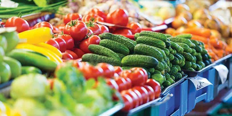 fruits and vegetables - frutas y vegetales