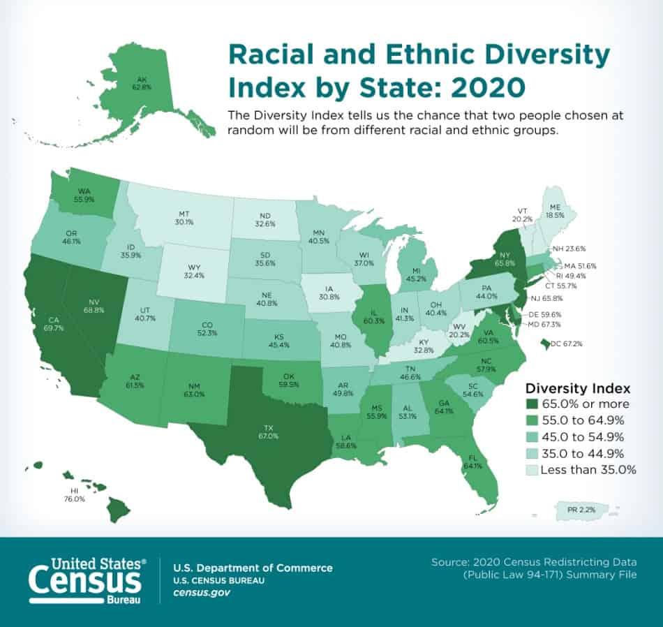 censo mapa diversidad - diversity