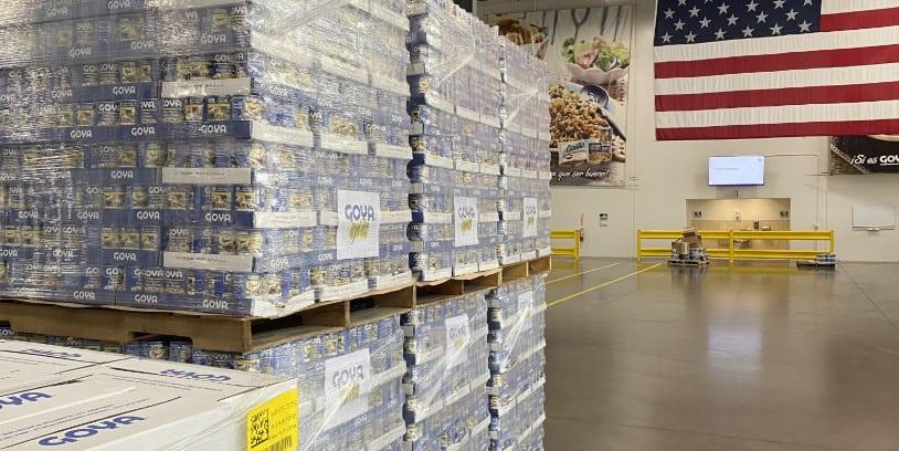 hurricane Ida donations Goya Foods - huracán Ida