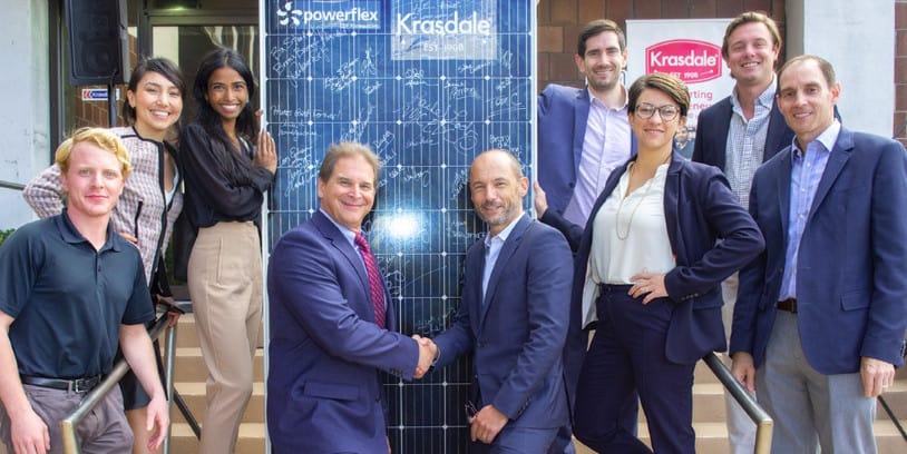 Krasdale Foods solar panel project - proyecto de paneles solares