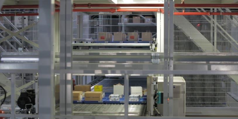 Walmart high tech distribution center