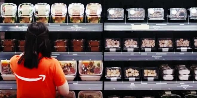 Amazon grocery store - tienda de comestibles