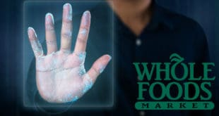 Amazon hand scanning Whole Foods - escaneo de la mano