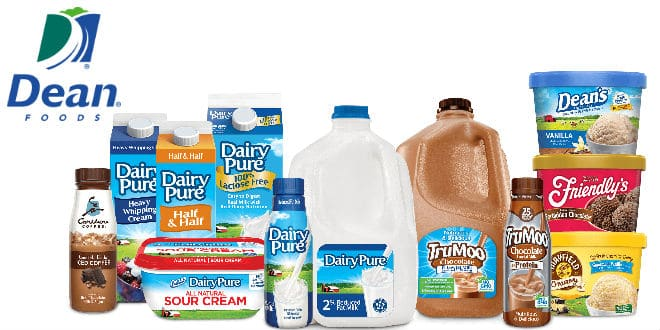 Dean Foods dairy products - productos lácteos