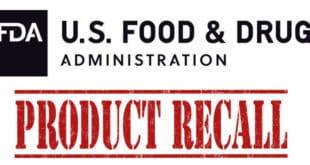 FDA Food Recall - tiendas