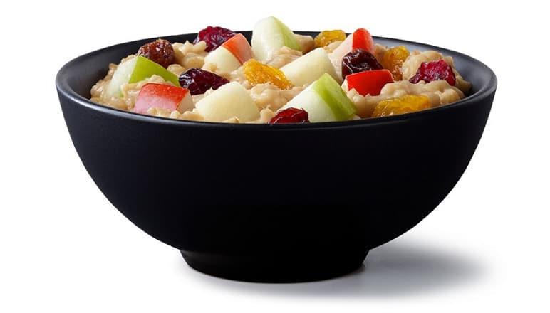 Fruit Maple Oatmeal