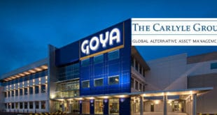 Goya Foods Carlyle Group