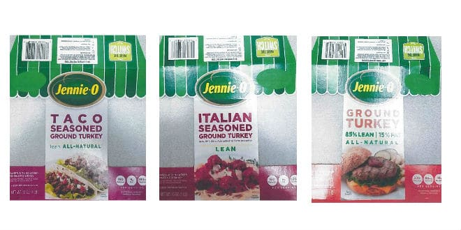 Jennie-O Ground Turkey Recall outbreak