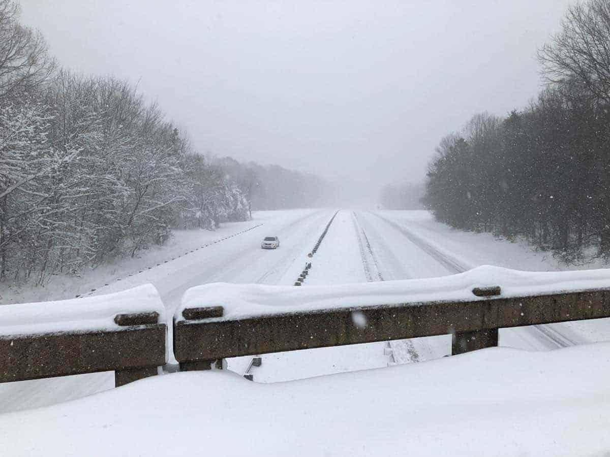 Snowstorm Diego North Carolina
