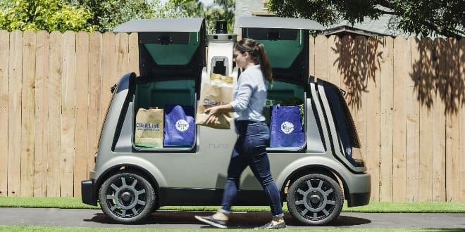 Kroger Nuro unmanned - vehículos autónomos