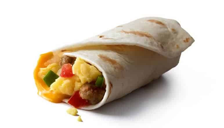 McDonald's Sausage Burrito