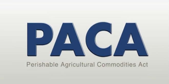 USDA - PACA violations - violaciones de PACA