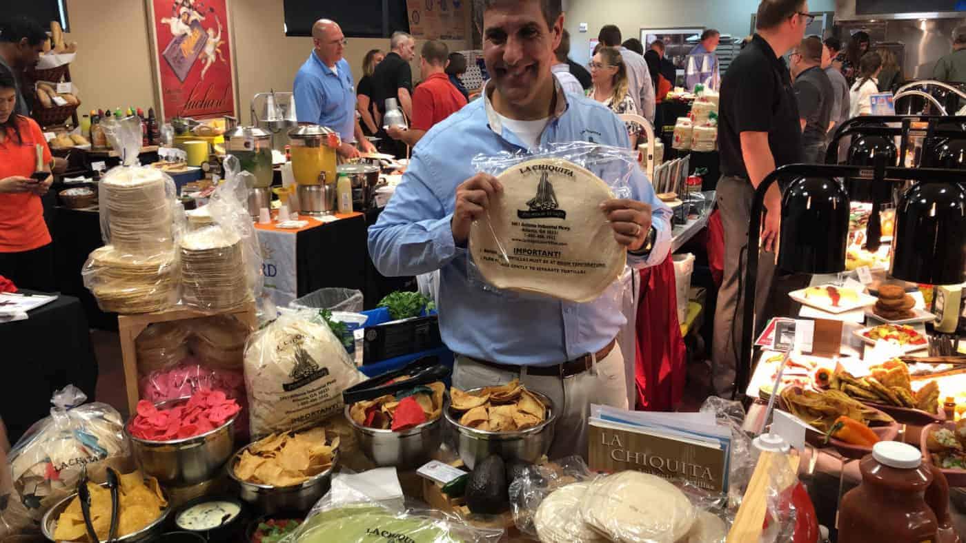 show de comida Sysco Charlotte