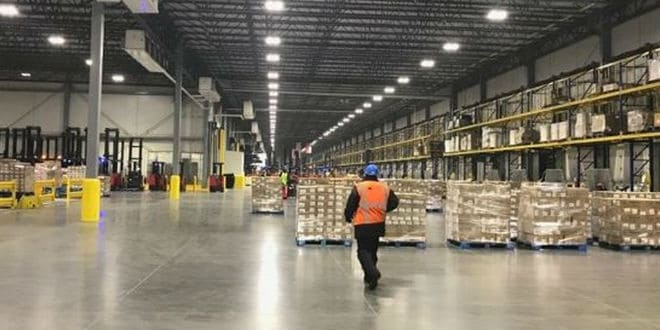 Smithfield Foods distribution center - centro de distribución