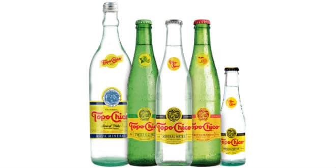 Topo Chico agua mineral