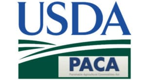 USDA PACA produce businesses