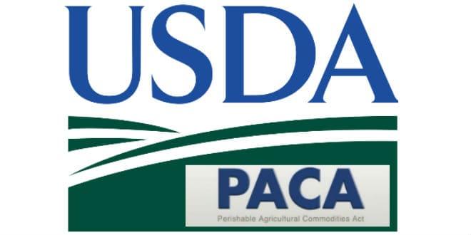 USDA PACA produce businesses
