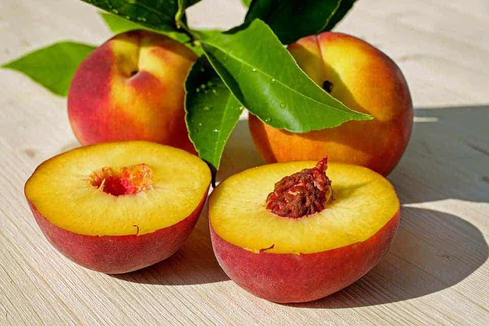facts about peaches