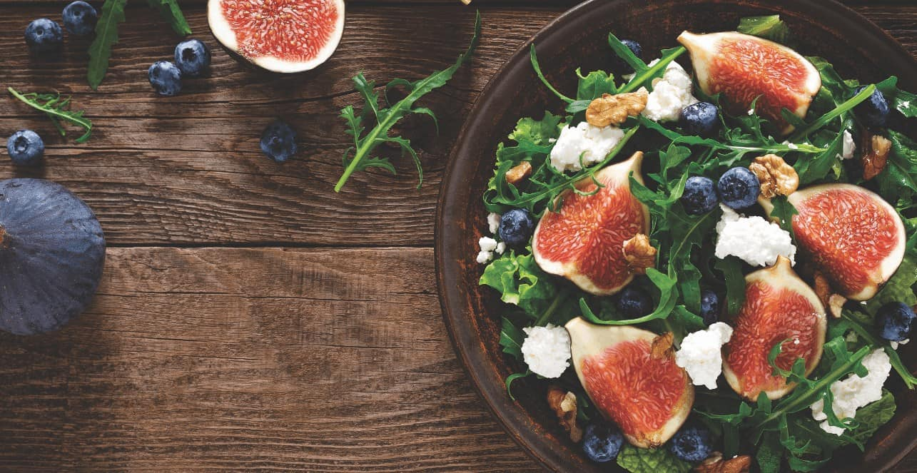 fig salad - ensalada de higos
