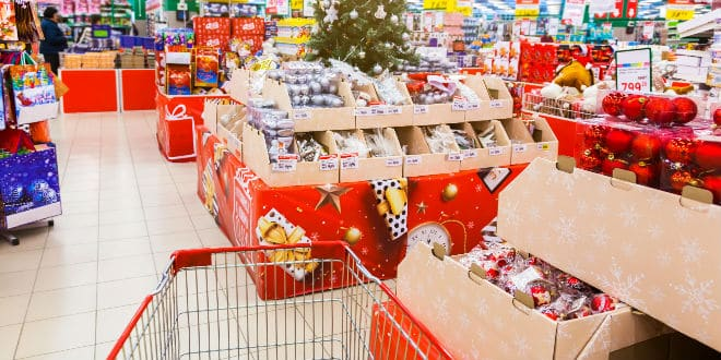 supermercado - grocery shopping holiday season