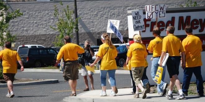 grocery workers strike