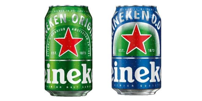 heineken cans