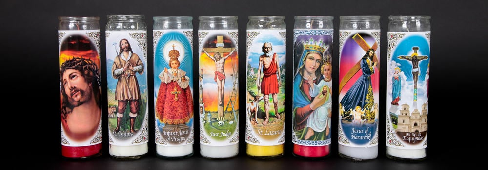 Bright Glow Candle Religious Candles