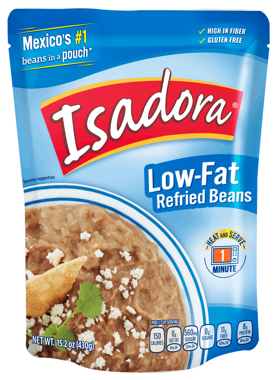 Isadora low-fat refried beans