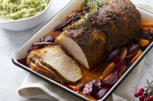lomo de cerdo colorado - pork loin