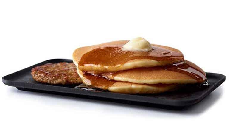 mcdonalds Hotcakes and Sausage