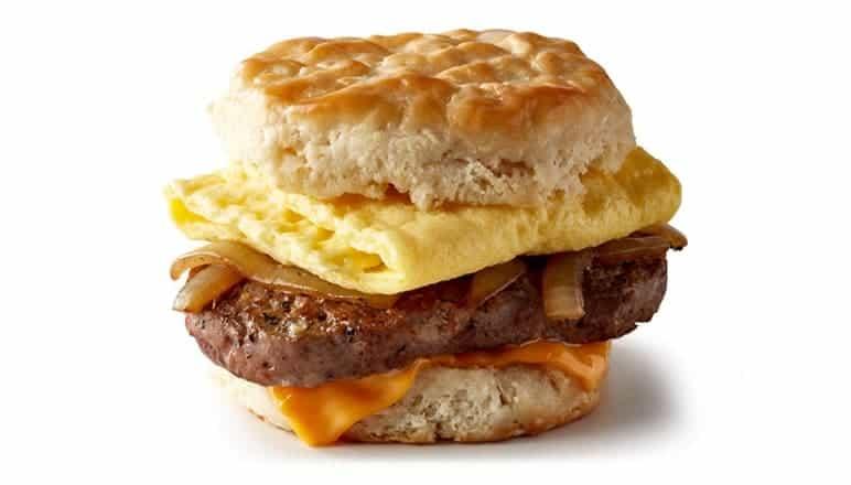 mcdonald's Steak Egg Cheese Biscuit