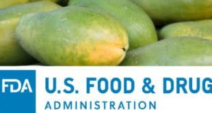 papaya FDA