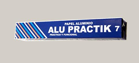 papel aluminio alupractik