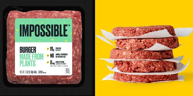 plant-based meat - carne a base de plantas