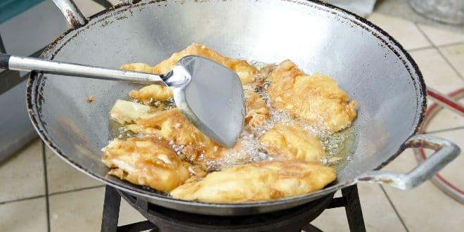 receta pollo frito