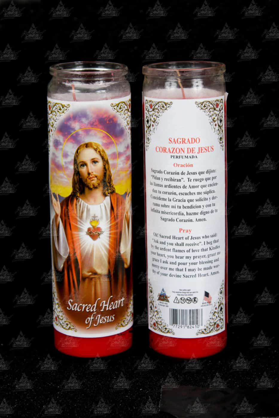 Bright Glow Candle Religious Scented Candle